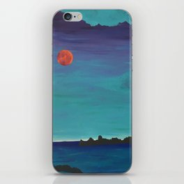 Under a Caribbean Moon iPhone Skin