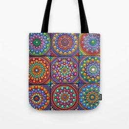 Mandala world- dot art Tote Bag