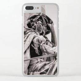 Parisian Guardian Clear iPhone Case