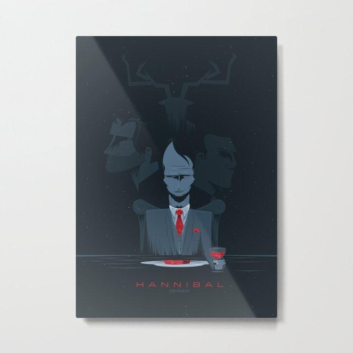 Hannibal series Metal Print