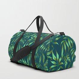 Brooklyn Forest - Green Duffle Bag