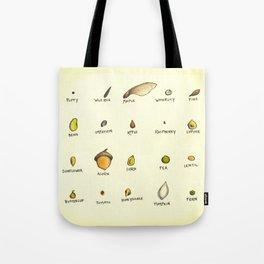 Seed Chart Tote Bag