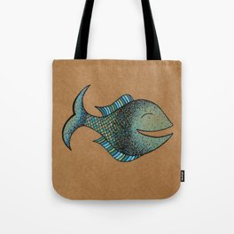 keep fishin' Tote Bag