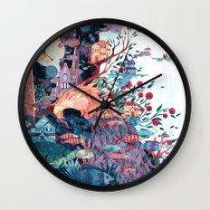 Cosmic neighborhood Wall Clock