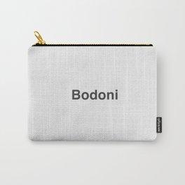 Designer Cringe Fest (Bodoni) Carry-All Pouch