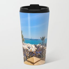 Lunch At The Carlton Pier In Cannes Travel Mug