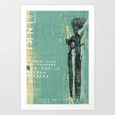 CARBON DIOXIDE SINKS Art Print