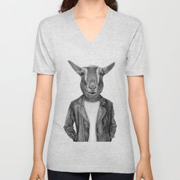 Don Pedro Old Goats Are Cool Unisex V-Neck