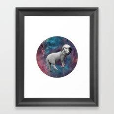 The Space Sheep 2.0 Framed Art Print