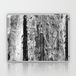 Carvings in Tree Trunk Gnarly Texture Pattern Laptop & iPad Skin