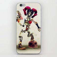 Invader Skull iPhone & iPod Skin