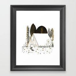 House I Framed Art Print