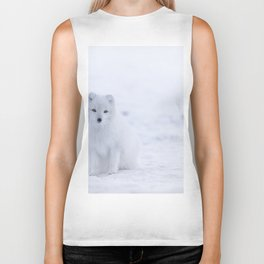 Arctic Fox (Color) Biker Tank