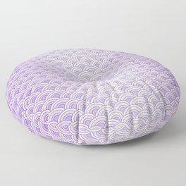 Purple Mermaid Scales - Mermaid Life Floor Pillow