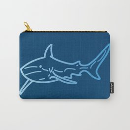Shark wireframe Carry-All Pouch