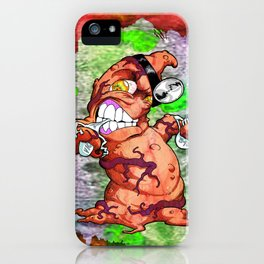 The Angry Appendix iPhone Case