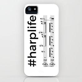 #harplife (2) iPhone Case