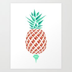 Sobriquet Pineapple. Art Print