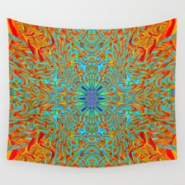 Perception is Real Wall Tapestry