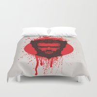 xmen Duvet Covers featuring Logan by Fimbis