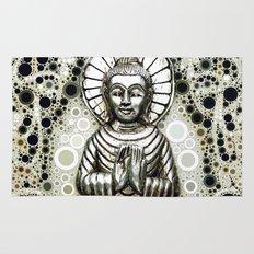Silver Buddha Rug