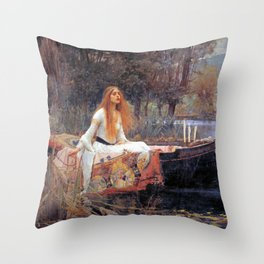 Lady Guinevere Throw Pillow