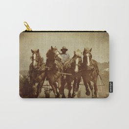 Team Of Horses Carry-All Pouch