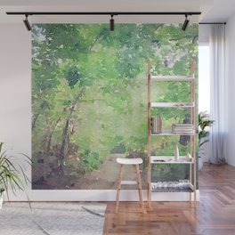 Nature Path Wall Mural