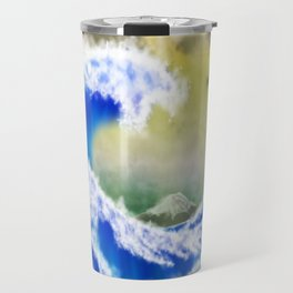 The GreatWave Interpretation Travel Mug