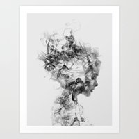 bee Art Prints featuring Dissolve Me by Daniel Taylor