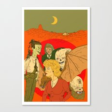 The Horror Canvas Print