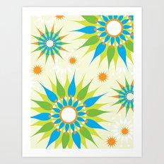 Popsy Twirl Bright Art Print