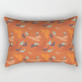Bird Camouflage at Sunset Rectangular Pillow