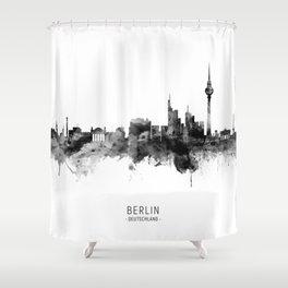 Berlin Germany Skyline Shower Curtain
