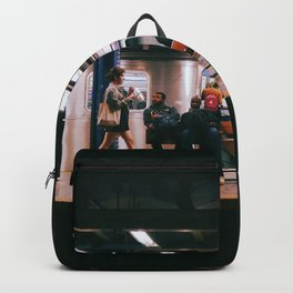 walking under city Backpack