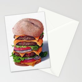 Belly Burger Stationery Cards