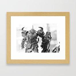 Ready for Battle Framed Art Print