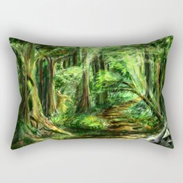 The Great Gaming Forest Rectangular Pillow