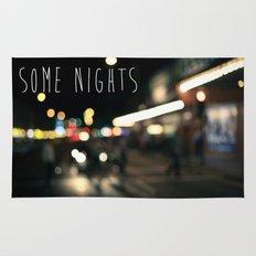 Some Nights Rug