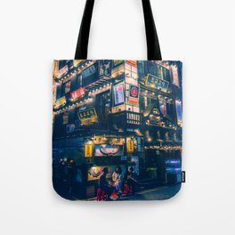 Jongro at night Tote Bag