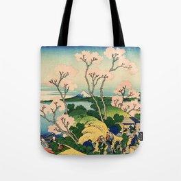 Fuji from Goten-Yama (High Resolution) Tote Bag