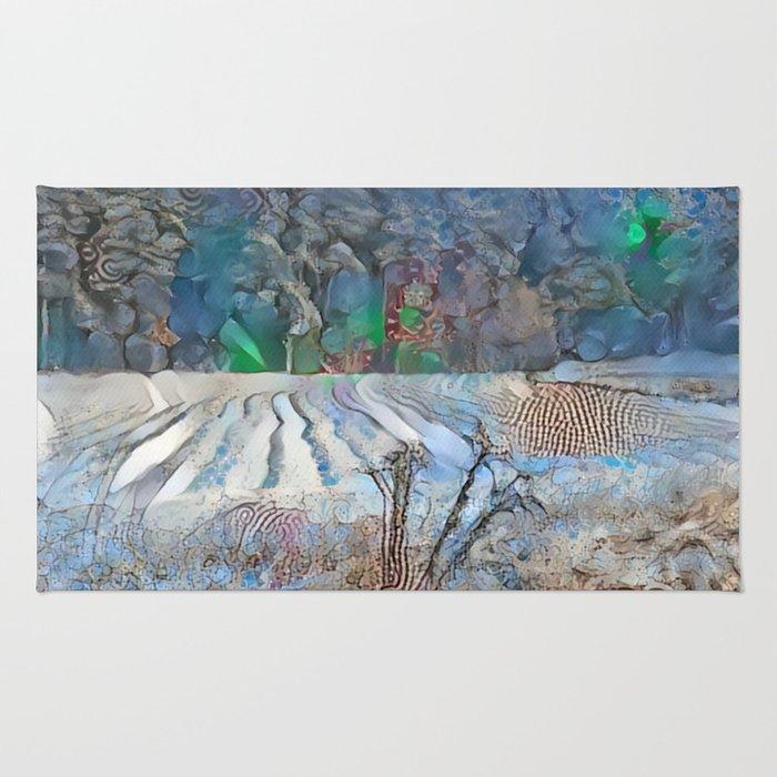 New Snow Field Rug