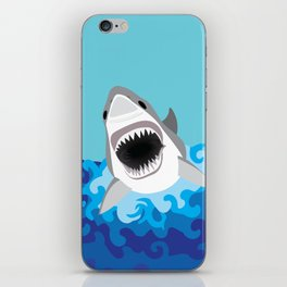 Great White Shark Attack iPhone Skin