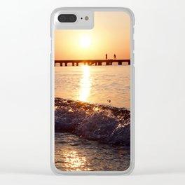 Peraia Summer Clear iPhone Case
