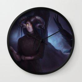 Recluse Wall Clock