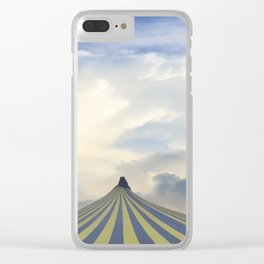 Turrets in the Clouds Clear iPhone Case