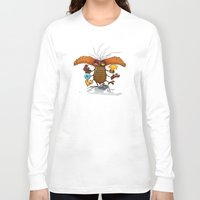 bookworm Long Sleeve T-shirts featuring Bookworm by Tayfun Sezer