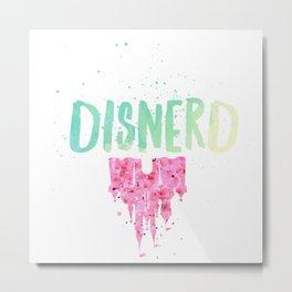 disnerd v3 Metal Print