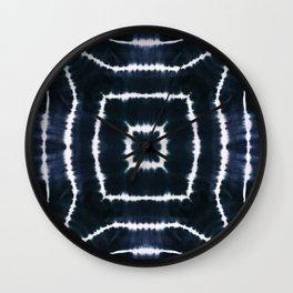 CASTLE OF GLASS - INDIGO Wall Clock