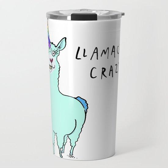 Llamacorn Crazy by dumpybird